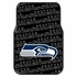 Front Seat Rubber Floor Mats - Car Truck SUV - Seattle Seahawks