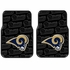 Front Seat Rubber Floor Mats - Car Truck SUV - St. Louis Rams