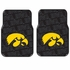 Front Seat Rubber Floor Mats - Car Truck SUV - UI University of Iowa Hawkeyes
