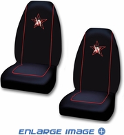 Front Universal Bucket Seat Covers - Car Truck SUV - Betty Boop - Star - PAIR