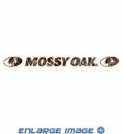 Front Windshield Decal - Mossy Oak Infinity Camo