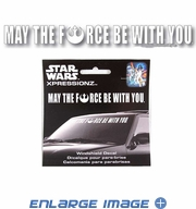 Front Windshield Decal - Star Wars