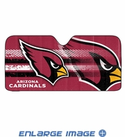 Front Windshield Sunshade - Accordion Style - Car Truck SUV - Arizona Cardinals