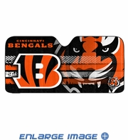 Front Windshield Sunshade - Accordion Style - Car Truck SUV - Cincinnati Bengals