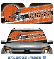 Front Windshield Sunshade - Accordion Style - Car Truck SUV - Cleveland Browns