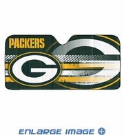 Front Windshield Sunshade - Accordion Style - Car Truck SUV - Green Bay Packers
