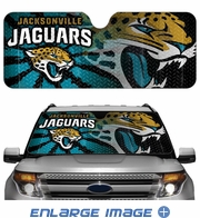 Front Windshield Sunshade - Accordion Style - Car Truck SUV - Jacksonville Jaguars