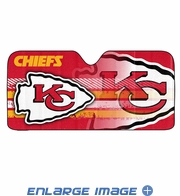 Front Windshield Sunshade - Accordion Style - Car Truck SUV - Kansas City Chiefs