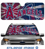 Front Windshield Sunshade - Accordion Style - Car Truck SUV - Los Angeles Angels of Anaheim