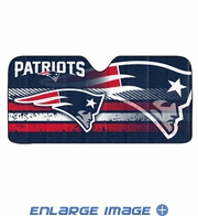Front Windshield Sunshade - Accordion Style - Car Truck SUV - New England Patriots