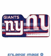 Front Windshield Sunshade - Accordion Style - Car Truck SUV - New York Giants