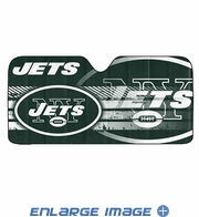 Front Windshield Sunshade - Accordion Style - Car Truck SUV - New York Jets