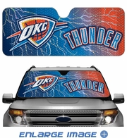 Front Windshield Sunshade - Accordion Style - Car Truck SUV - Oklahoma City Thunder