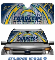 Front Windshield Sunshade - Accordion Style - Car Truck SUV - San Diego Chargers