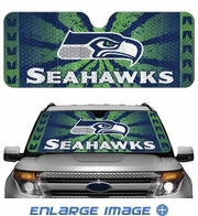Front Windshield Sunshade - Accordion Style - Car Truck SUV - Seattle Seahawks
