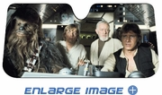 Front Windshield Sunshade - Accordion Style - Car Truck SUV - Star Wars