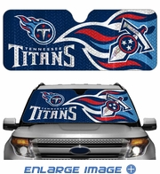 Front Windshield Sunshade - Accordion Style - Car Truck SUV - Tennessee Titans