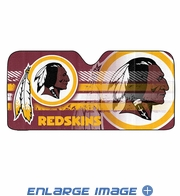 Front Windshield Sunshade - Accordion Style - Car Truck SUV - Washington Redskins