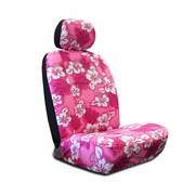HAWAIIAN PRINT ALOHA SEAT COVERS