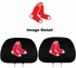 Headrest Covers - Car Truck SUV - Boston Red Sox - Pair