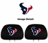 Headrest Covers - Car Truck SUV - Houston Texans - Pair