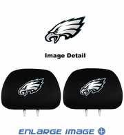 Headrest Covers - Car Truck SUV - Philadelphia Eagles - Pair