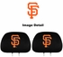Headrest Covers - Car Truck SUV - San Francisco Giants - Pair