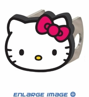 Hitch Plug Receiver Cover - Metal - Hello Kitty