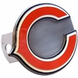 Hitch Plug Receiver Cover - Metal - NFL - Chicago Bears
