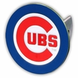 Hitch Plug Receiver Cover - Metal - MLB - Chicago Cubs