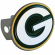 Hitch Plug Receiver Cover - Metal - NFL - Green Bay Packers