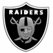 Hitch Plug Receiver Cover - Metal - NFL - Oakland Raiders