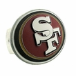 Hitch Plug Receiver Cover - Metal - NFL - San Francisco 49ers