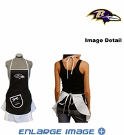 Hostess Apron - Women - Baltimore Ravens