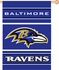 House Flag Banner Outdoor/Indoor - Double Sided - Baltimore Ravens