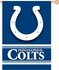 House Flag Banner Outdoor/Indoor - Double Sided - Indianapolis Colts