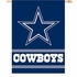 House Flag Banner Outdoor/Indoor - Double Sided - Dallas Cowboys