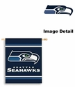 House Flag Banner Outdoor/Indoor - 2 sided - Seattle Seahawks