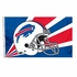 House Flag Banner Outdoor/Indoor - 3 x 5 Helmet Style - Buffalo Bills