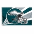 House Flag Banner Outdoor/Indoor - 3 x 5 Helmet Style - Philadelphia Eagles