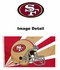 House Flag Banner Outdoor/Indoor - 3 x 5 Helmet Style - San Francisco 49ers