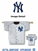 House Flag Banner Outdoor/Indoor - Double Sided - Jersey Style - New York Yankees