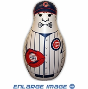Inflatable Tackle Buddy Bop Bag - Chicago Cubs