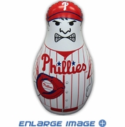 Inflatable Tackle Buddy Bop Bag - Philadelphia Phillies