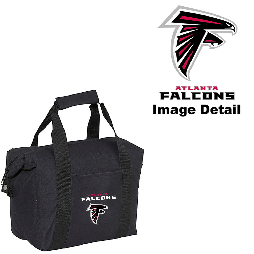 Atlanta Falcons Insulated Lunch Bag Red