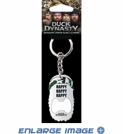 Key Chain - Bottle Opener - Duck Dynasty - Phil Happy Happy Happy