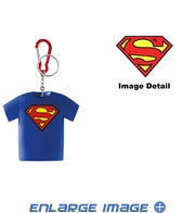 Key Chain - Coin Holder - Superman Logo