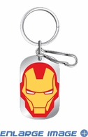 Key Chain - Dog Tag - Marvel Avengers - Iron Man