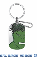 Key Chain - Dog Tag - Marvel Avengers - The Incredible Hulk