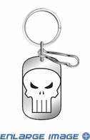 Key Chain - Dog Tag - Marvel Comics - The Punisher
